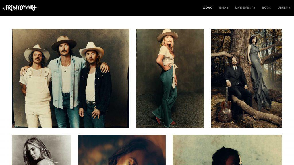 diseño web fotografos